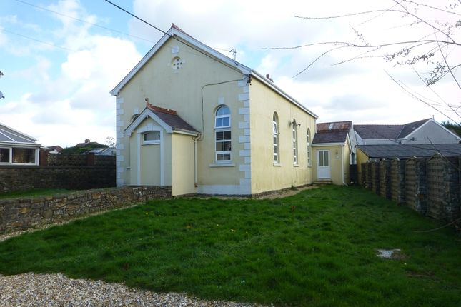 Outside of Elim Chapel, Ammanford, Carmarthenshire. SA18