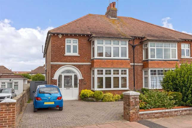 Thumbnail Semi-detached house for sale in Forest Road, Broadwater, Worthing