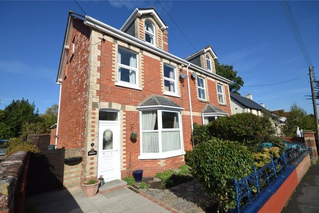 Thumbnail Semi-detached house for sale in Brimley Road, Bovey Tracey, Newton Abbot, Devon