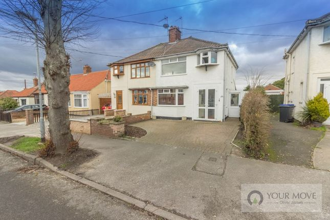 3 bed semi-detached house for sale in Marlborough Road, Lowestoft