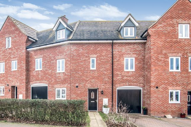 Thumbnail Town house for sale in Tempest Crescent, Shortstown, Bedford