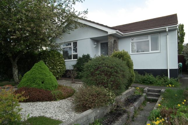 Thumbnail Bungalow for sale in Manor Park, Duloe, Nr. Liskeard
