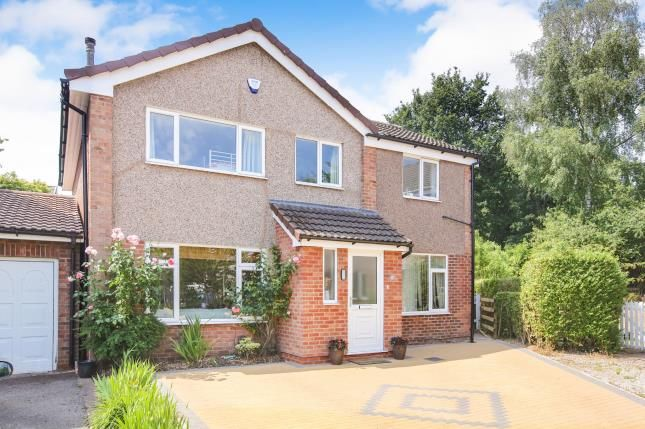Thumbnail Detached house for sale in Grebe Close, Knutsford, Cheshire