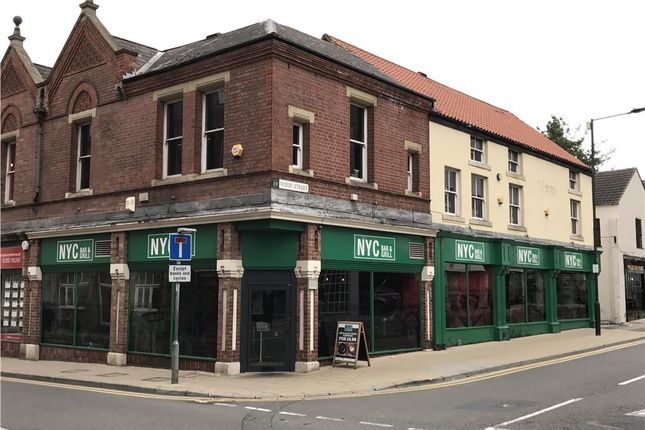 Thumbnail Restaurant/cafe to let in Wood Street, Doncaster