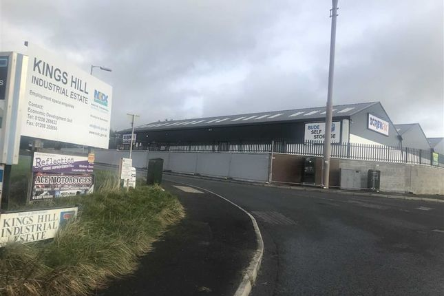 Thumbnail Light industrial to let in Unit 3, Kings Hill Industrial Estate, Bude