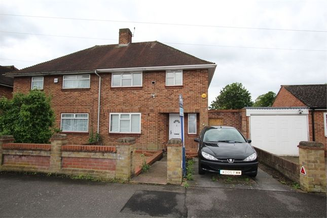 Thumbnail Semi-detached house for sale in Hamilton Road, Feltham