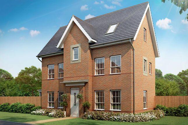 "Thumbnail Detached house for sale in ""Hexham"" at Melton Road, Edwalton, Nottingham"