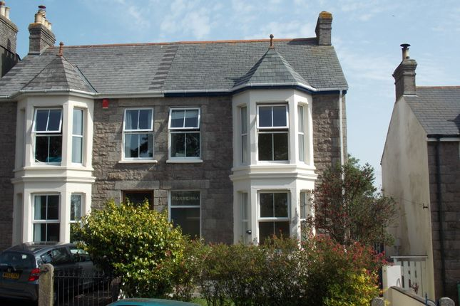 Thumbnail Semi-detached house for sale in Park Road, Redruth