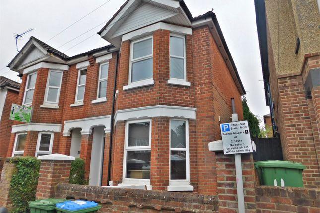 Thumbnail Semi-detached house to rent in Burlington Road, Southampton