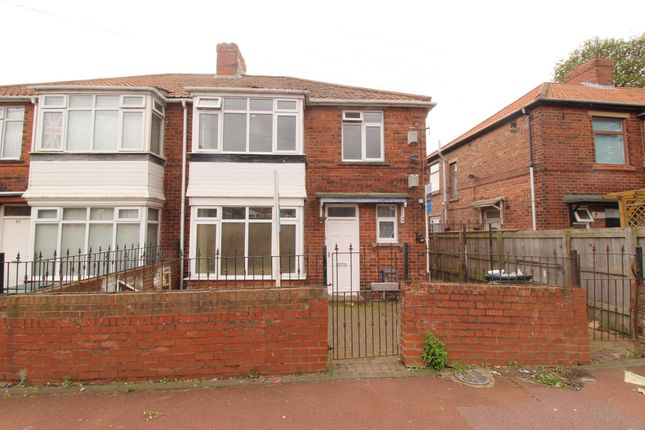 Thumbnail Flat for sale in Oakfield Gardens, Benwell, Newcastle Upon Tyne