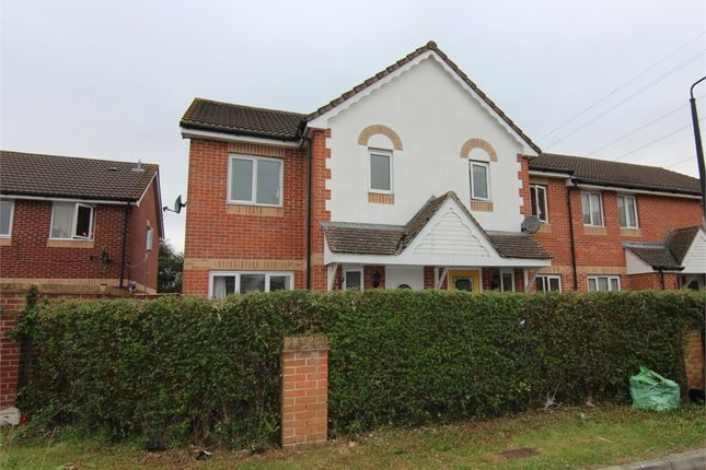 Thumbnail Terraced house for sale in Spruce Way, Weston-Super-Mare