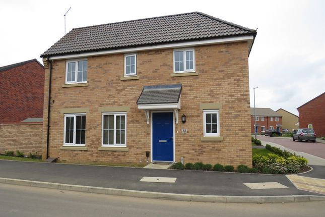 Thumbnail Detached house for sale in Damselfly Road, Northampton