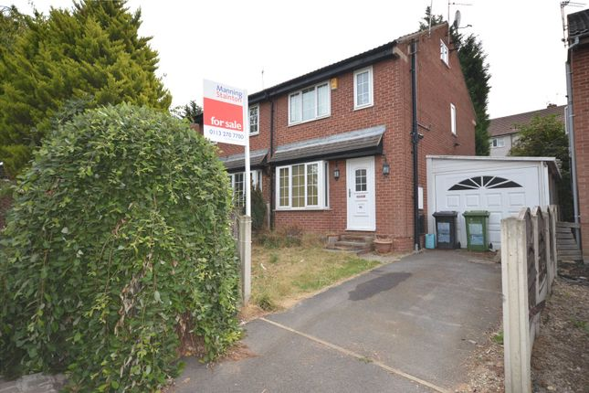 Thumbnail Semi-detached house for sale in Exeter Drive, Leeds, West Yorkshire