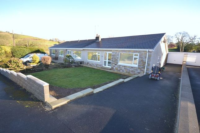 Thumbnail Detached bungalow to rent in Brynglas Crescent, Llangunnor, Carmarthen