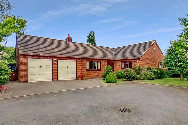 Thumbnail Detached bungalow to rent in Warren Close, Stretton, Burton-On-Trent