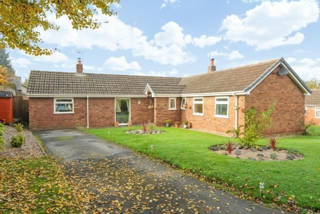 Thumbnail Detached bungalow for sale in Orleton, Herefordshire
