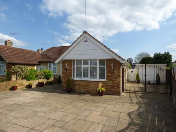 Thumbnail Bungalow for sale in Dorkins Way, Cranham, Upminster