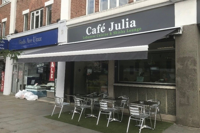 Thumbnail Restaurant/cafe to let in Julia Cafe, 179-183 Greenford Road, Greenford, Middlesex