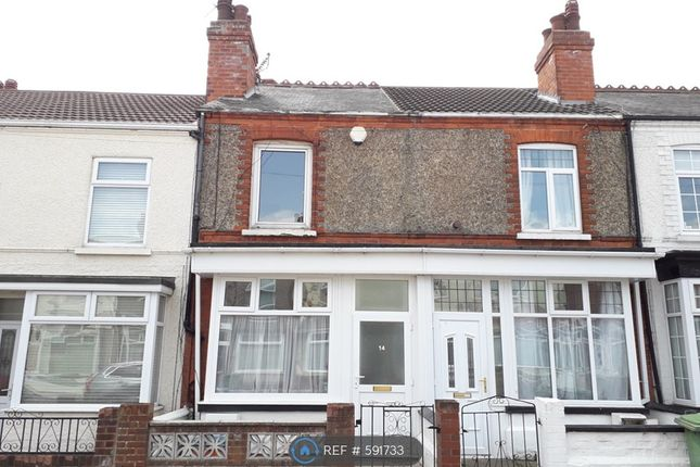 Thumbnail Terraced house to rent in Whites Road, Cleethorpes