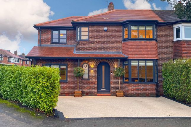 Thumbnail Semi-detached house for sale in Davehall Avenue, Wilmslow