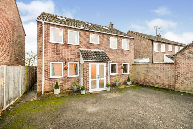 Thumbnail Detached house for sale in Cardyke Drive, Baston, Peterborough