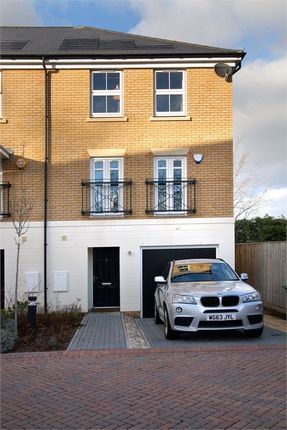 Thumbnail End terrace house for sale in Hardegray Close, Sutton, Surrey