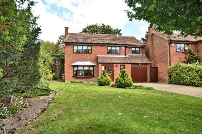 Thumbnail Detached house for sale in Barleyfields, Didcot, Oxon.