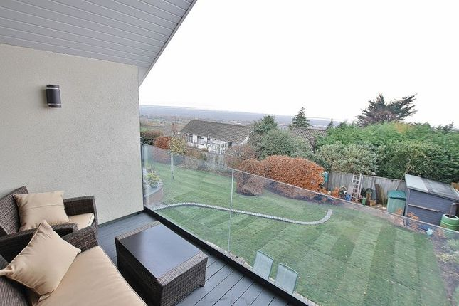 Balcony Views of Oldfield Drive, Lower Heswall, Wirral CH60
