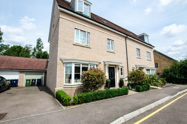 Thumbnail Semi-detached house for sale in Whittlesford, Cambridge, Cambridgeshire