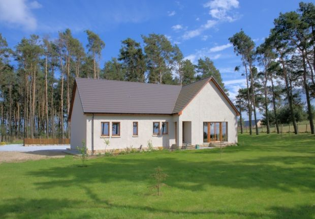 Thumbnail Detached bungalow for sale in Roseisle, Elgin
