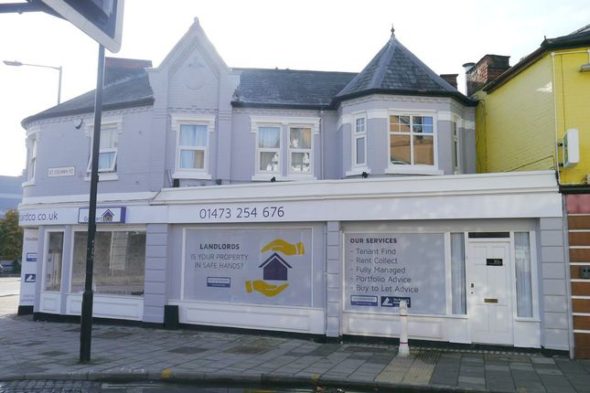 Thumbnail 2 bed flat to rent in Great Colman Street, Ipswich, Suffolk