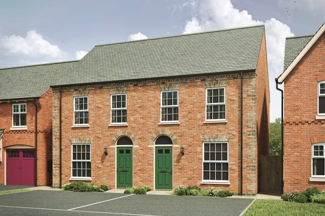 """3 bed semi-detached house for sale in """"The Carnel Ge 4th Edition"""" at Spring Avenue, Ashby-De-La-Zouch LE65"""