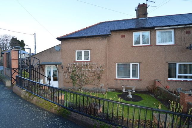 Thumbnail Semi-detached house for sale in Oliver Road, Wooler, Northumberland