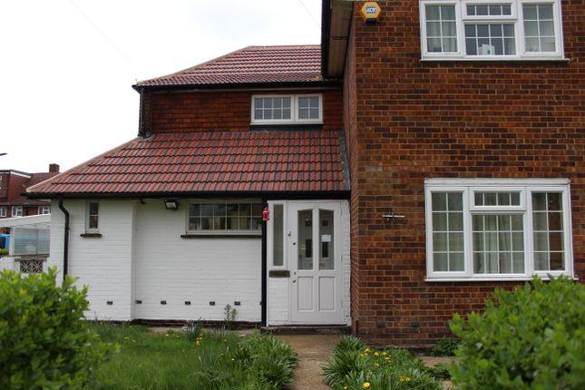 Thumbnail Semi-detached house to rent in Denham Road, Feltham