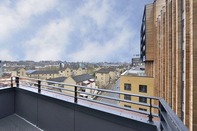 Balcony of Wharf Road, London N1