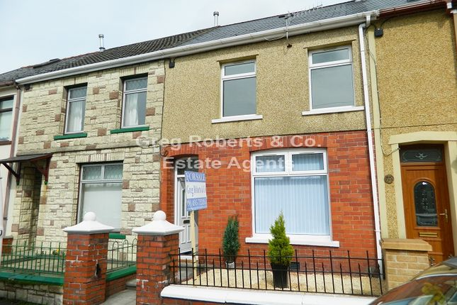 Thumbnail Terraced house for sale in Brompton Place, Tredegar, Blaenau Gwent.
