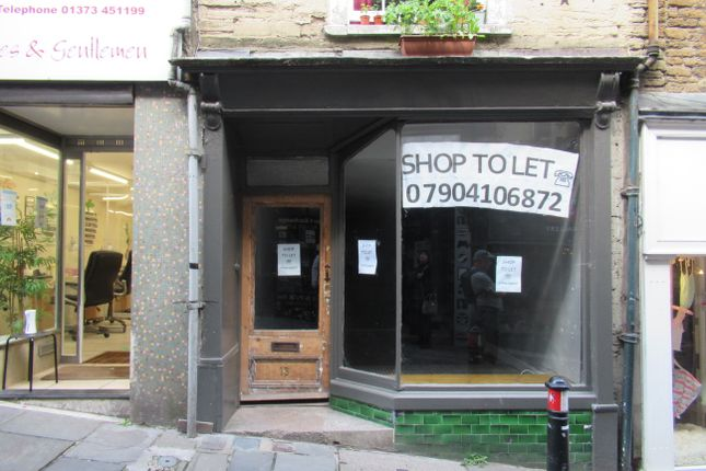 Thumbnail Retail premises to let in Stoney Street, Frome