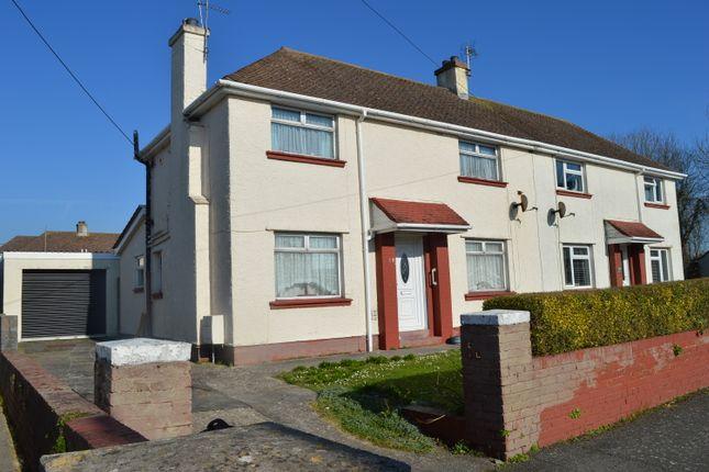 Thumbnail Semi-detached house for sale in Tudor Place, Llantwit Major