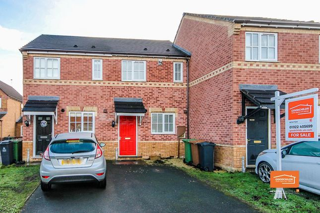 Thumbnail Terraced house for sale in Astbury Close, Turnberry, Walsall