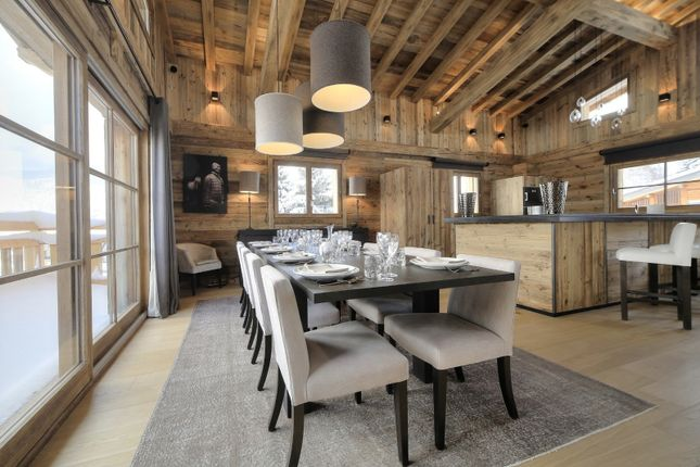 Dining Area of Megeve, Rhones Alps, France