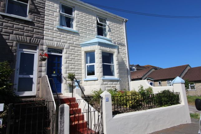 Thumbnail End terrace house for sale in Clarence Road, Torpoint