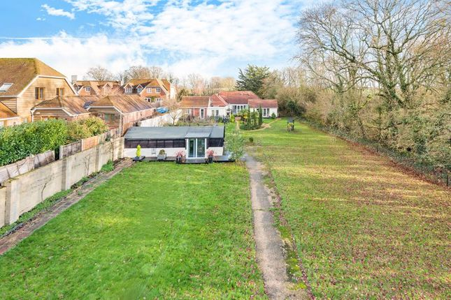 Thumbnail Detached bungalow for sale in Wickham Road, Fareham