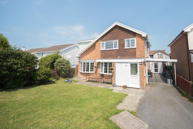Thumbnail Detached house for sale in Maesceinion, Waunfawr, Aberystwyth