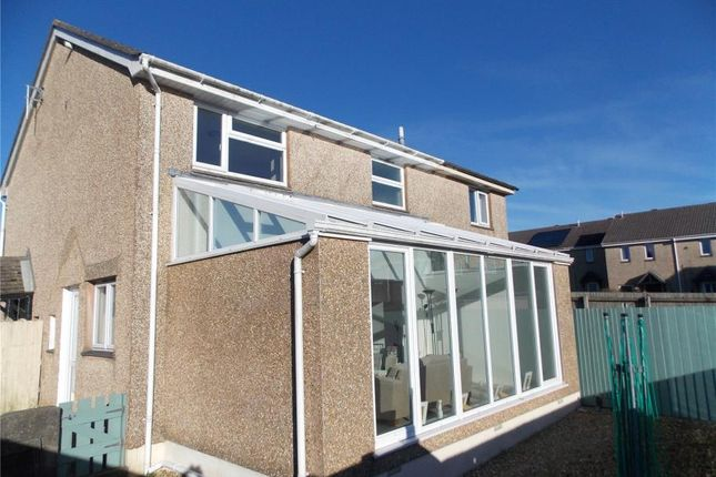 Thumbnail Terraced house for sale in Holly Close, Threemilestone, Truro