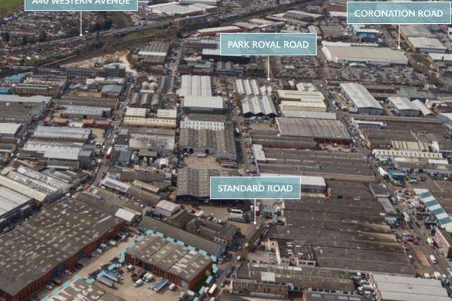 Thumbnail Industrial to let in Unit 3, Oakwood Business Park, Standard Road, Park Royal, London
