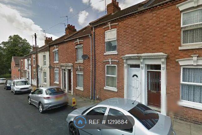 Thumbnail Terraced house to rent in Hampton Street, Northampton
