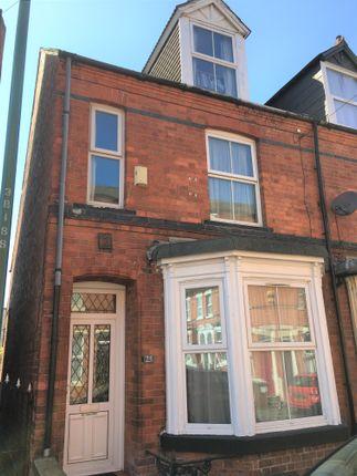 Thumbnail End terrace house for sale in Birrell Road Forest Fields, Nottingham, Nottingham