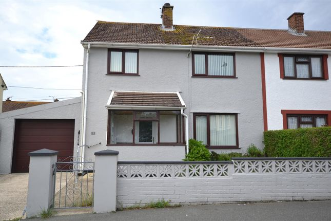 3 bed semi-detached house for sale in Brynawelon, Stop And Call, Goodwick SA64