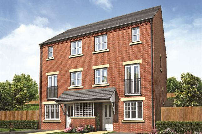 "Thumbnail End terrace house for sale in ""The Wycliffe"" at Acresbrook, Stalybridge"