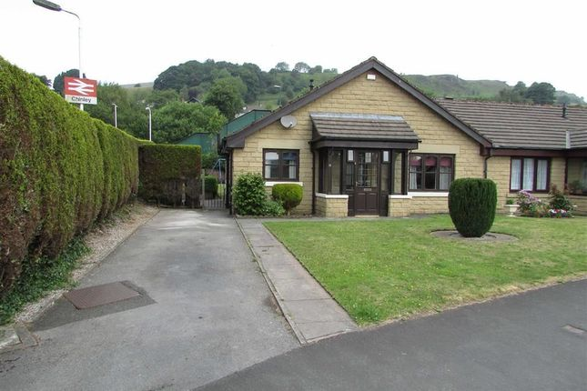 Thumbnail Semi-detached bungalow for sale in Station Road, Chinley, High Peak